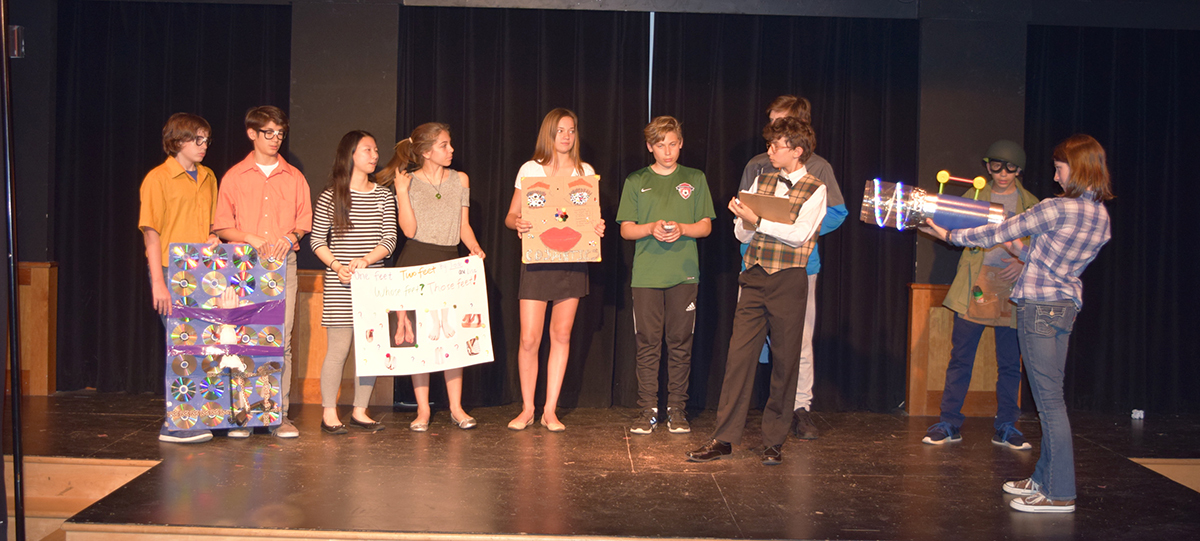 Middle School Earns Silver Medal at Drama Festival
