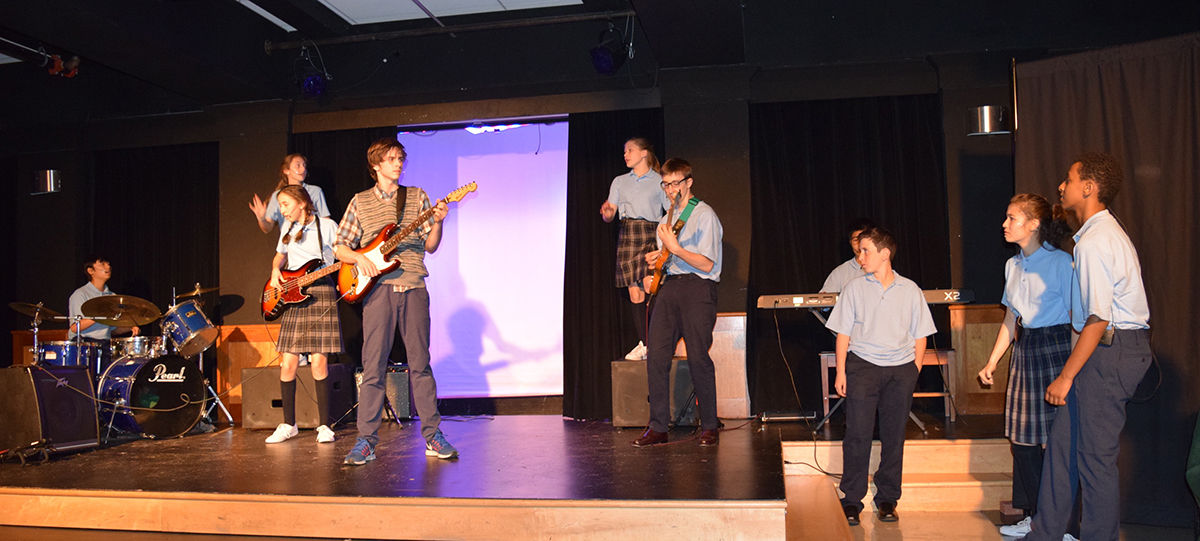 "Middle School ""Rocks"" in Spring Musical"
