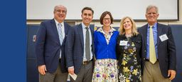 Community Celebrates Head of School Rebecca Upham