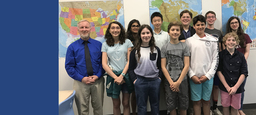Middle School Students Excel at History Bee