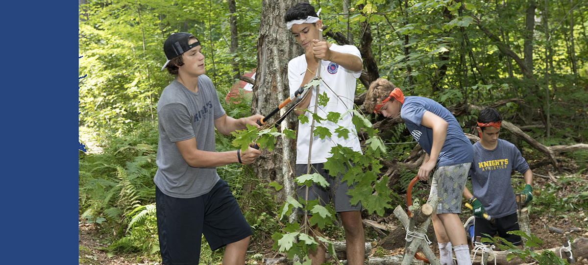 Bivouac Builds Ninth Grade Community
