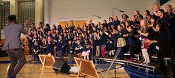 One School One Choir Shines In Their First Performance