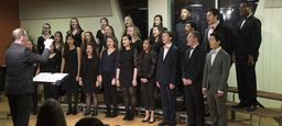 Singing Groups Impress with Winter Performance