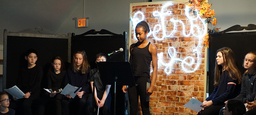 Fifth Graders Shine in Poetry Cafe Open Mic