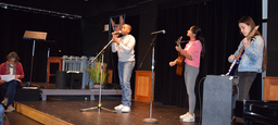 Middle School Students Share at Favorite Poetry Assembly
