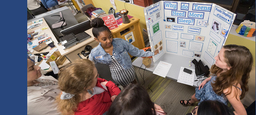 "Eighth Graders Tackles Big Questions at ""Science Knight"""