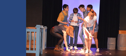 Middle School Takes Gold in Drama Festival
