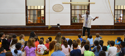 Storyteller Delights Lower School Students