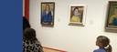 Kindergartners Visit MFA for Self-Portrait Study