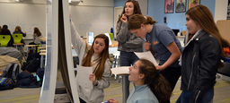 Middle School Girls Solve Problems at 9th Annual Math Collaborative