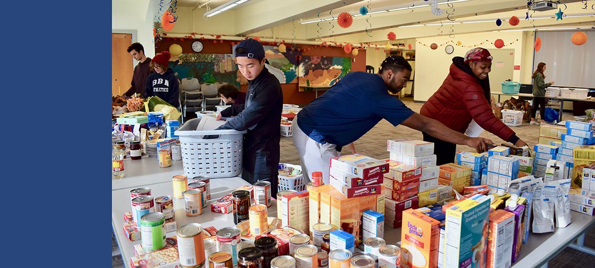 Students Continue Cherished Thanksgiving Basket Tradition