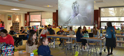 Media Lunch a Hit at Middle School