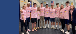 "BB&N Students ""Pink the Rink"" for Breast Cancer Awareness"