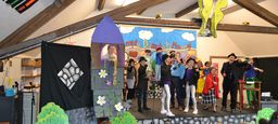 Fifth Graders Crack the Case of Humpty Dumpty in Spring Play