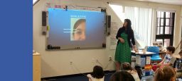 Third Grade Science Curriculum Bolstered by Eye Opening Visitor